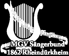 """MGV """"Sängerbund"""" 1862 Rheindürkheim e.V."""